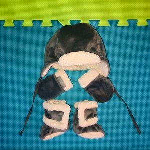 Jj Cole Baby Bomber Hat Set